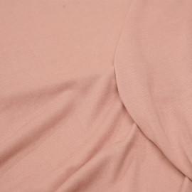 Tissu jersey cupro rose misty - pretty mercerie - mercerie en ligne