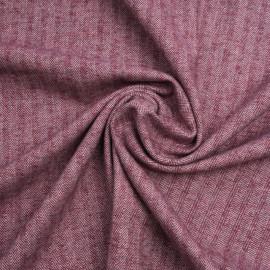 Tissu coton rhododendron à motif chevron blanc et rose   pretty mercerie   mercerie en ligne