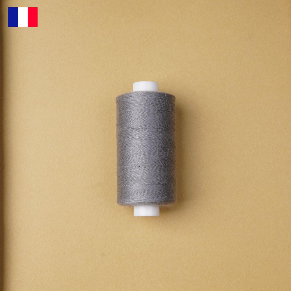 Fil à coudre gris clair haute ténacité 500 m | fabrication française | Pretty Mercerie | Mercerie en ligne
