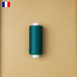 Fil à coudre vert turquoise haute ténacité 500 m | fabrication française | pretty Mercerie | Mercerie en ligne