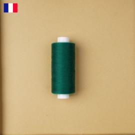 Fil à coudre vert sapin ténacité 500 m | fabrication française | pretty Mercerie | Mercerie en ligne