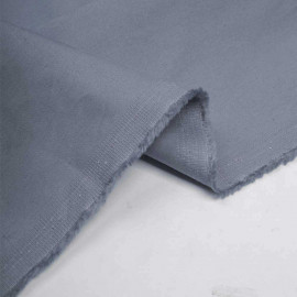 Tissu denim chino dusty blue - pretty mercerie - mercerie en ligne