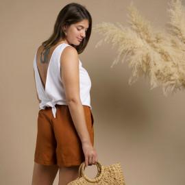 Top Glory PDF| Patron de couture top  noué dans le dos au format PDF Pretty Mercerie | mercerie en ligne
