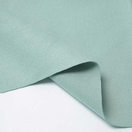 Tissu lainage vert pastel   Pretty Mercerie   mercerie en ligne