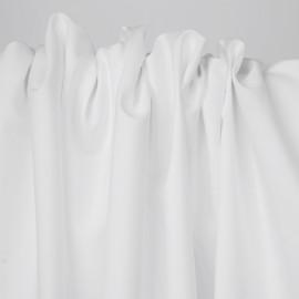 Tissu popeline de coton blanc   Pretty Mercerie   mercerie en ligne