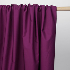Tissu popeline de coton festival fuchsia | Pretty Mercerie | mercerie en ligne