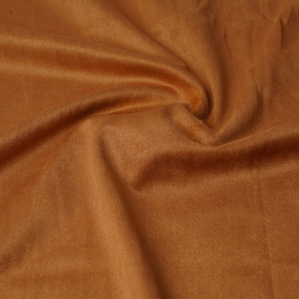 Tissu suédine fauve | pretty mercerie | mercerie en ligne