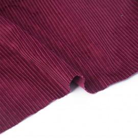 Tissu velours côtelé coton beaujolais   Pretty Mercerie   mercerie en ligne