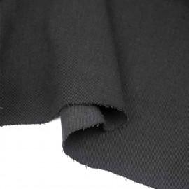 Tissu toile denim stretch noir   pretty mercerie   mercerie en ligne