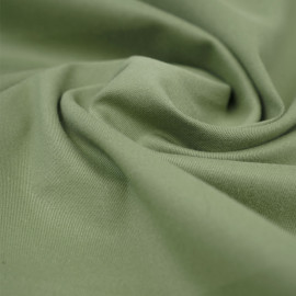 Tissu denim chino vert sauge | pretty mercerie | mercerie en ligne