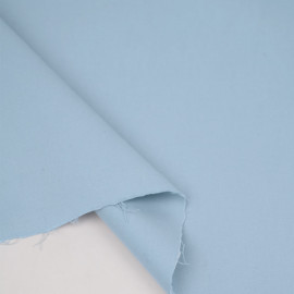 Tissu denim chino bleu céleste | pretty mercerie | mercerie en ligne