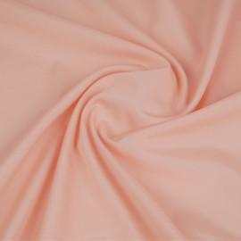 Tissu popeline de coton saumon | pretty mercerie | mercerie en ligne