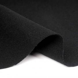 Tissu drap de laine noir   pretty mercerie   mercerie en ligne