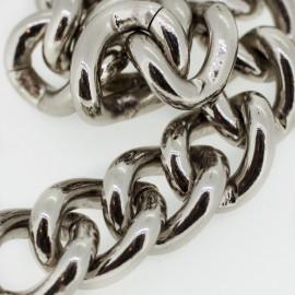 chaine Metal argent | Pretty mercerie | mercerie en ligne