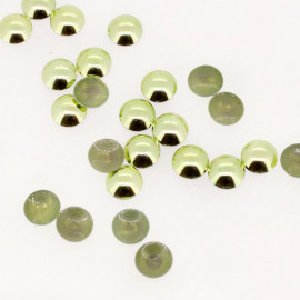 Clous bombés vert amande