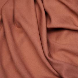 Tissu crêpe proviscose rose aragon - pretty mercerie - mercerie en ligne